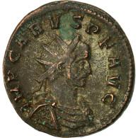 Carus, Antoninien, Ticinum, TTB, Billon, RIC:82 - 5. L'Anarchie Militaire (235 à 284)