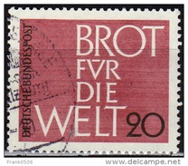 Germany 1962, Bread For The World, 20pf, Used - [7] Federal Republic