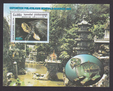 Cambodia, Scott #1923, Mint Hinged, Bangkok Stamp Exhibition, Issued 2000 - Cambodge