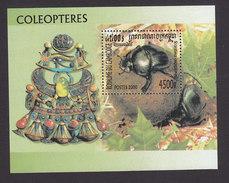 Cambodia, Scott #1937, Mint Hinged, Beetles, Issued 2000 - Cambodia