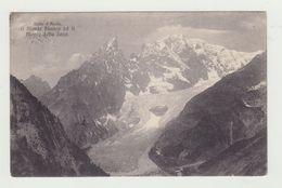 VALLE D'AOSTA - MONTE BIANCO E MONTE DELLA SAXE - VIAGGIATA 1905 - ITALY POSTCARD - Aosta