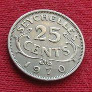 Seychelles 25 Cents 1970 KM# 11 Seychellen Seicheles - Seychelles