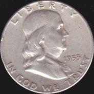 Etats-Unis, Half Dollar 1953 - Argent / Silver - Émissions Fédérales
