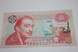 5000 PESETAS REPUBLICA DE CATALUNYA - Espagne