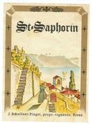 Rare // St.Saphorin, J.Schaffner-Pinget, Vignerons à Rivaz  Vaud // Suisse - Bateaux à Voile & Voiliers
