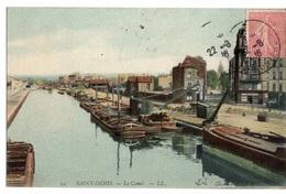 93 SEINE SAINT DENIS - SAINT DENIS Le Canal - Saint Denis