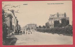 Hannut - Route De Huy Et Maison Jamar  ( Voir Verso ) - Hannut