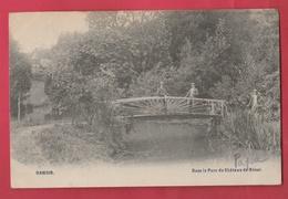 Hamoir - Dans Le Parc Du Château De Rénal -1907 ( Voir Verso ) - Hamoir