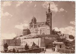 Marseille - Notre-Dame-de-la-Garde - 'US GO HOME' Graffiti - (No. 271, Edition 'Mireille', Ets G. Gandini, Marseille) - Notre-Dame De La Garde, Funicolare E Vergine