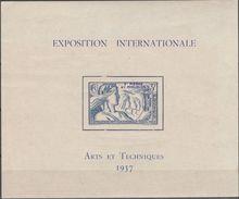 """ST.PIERRE & MIQUELON Block 1(168) """"Weltausstellung Paris"""" MNH / ** / Postfrisch - St.Pierre & Miquelon"""
