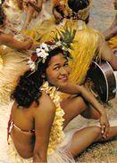TAHITI- DANSEUSE TAHITIENNE- TAHITIAN DANCING GIRL - Tahiti