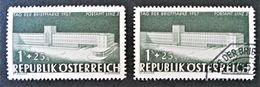 JOURNEE DU TIMBRE 1957 - NEUF * + OBLITERE - YT 875 - MI 1039 - 1945-.... 2nd Republic