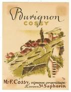 Rare // Burignon, M.Cossy St.Saphorin Vaud // Suisse - Etiquettes