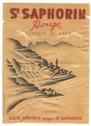 Rare // St.Saphorin Rouge, David Amstein, Vaud // Suisse - Etiquettes