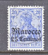 Germany Morocco 36    (o)  Wmk. - Offices: Morocco