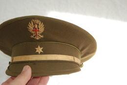 CASQUETTE DE MILITAIRE ESPAGNOL - Police & Gendarmerie
