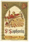 Rare // St.Saphorin ,David Amstein, Vaud // Suisse - Etiquettes