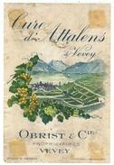 Rare // Cure D'Attalens, Obrist à Vevey, Vaud // Suisse - Etiquettes