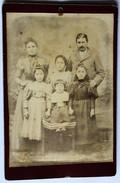 Photo Originale Portrait Famille Jules Métivet 4 Enfants - Cartes Postales