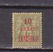 ZANZIBAR          N° YVERT  :      29     NEUF AVEC CHARNIERES       ( Ch  775   ) - Zanzibar (1894-1904)
