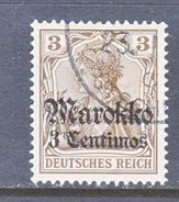 Germany Morocco 45  (o)     Wmk. - Offices: Morocco