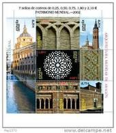 ESPAÑA 2002 - PATRIMONIO MUNDIAL - Edifil Nº 3936-3941 - Yvert 3504-3510 - 1931-Oggi: 2. Rep. - ... Juan Carlos I