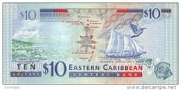 EAST CARIBBEAN STATES P. 52a 10 D 2012 UNC - Caraïbes Orientales