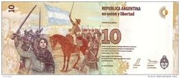 ARGENTINA P. 360 10 P 2016 UNC - Argentina