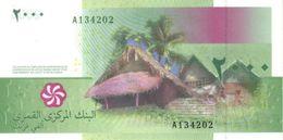 COMOROS P. 17b 2000 F 2016 UNC - Comores