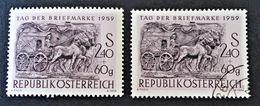 JOURNEE DU TIMBRE 1959 - NEUF ** + OBLITERE - YT 914 - MI 1072 - 1945-.... 2nd Republic