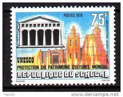 Sénégal N° 484 XX  Protection Du Patrimoineculturel Mondial,  Sans Charnière, TB - Senegal (1960-...)