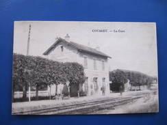CPA - COUSSEY - LA GARE - Coussey