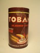 Boite Ancienne Publicité Tobana Déjeuner Gouter Cacao 500gr - Boîtes