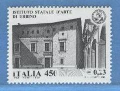 ITALIA -  Istituto Arte Di Urbino - VARIETA' - Abarten Und Kuriositäten