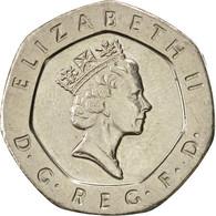 Grande-Bretagne, Elizabeth II, 20 Pence, 1995, SUP, Copper-nickel, KM:939 - 1971-… : Monnaies Décimales