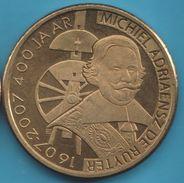 Netherlands TOKEN Vlissingen ½ Ruyter (400th Anniversary Michiel De Ruyter) - Netherland