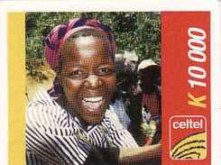 Zambia Celtel K 10 000 Recharge Phonecard, Used - Zambie
