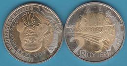 Netherlands TOKEN Vlissingen 2 Ruyter 2007 (400th Anniversary Michiel De Ruyter) - Netherland