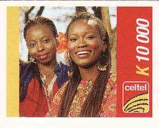 Zambia Celtel K 10 000 Recharge Phonecard, Used - Zambia