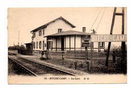D 57 . BITCHE - CAMP .la Gare - Bitche