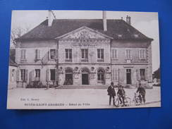 CPA - NUITS SAINT GEORGES - HÔTEL DE VILLE - Nuits Saint Georges