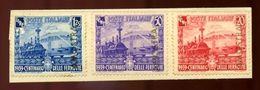 ITALY 1939 RAILWAY CENTENARY SET - Italy
