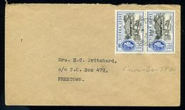 SIERRA LEONE RAILWAY COVER FREETOWN - BO 1959 - Sierra Leone (...-1960)
