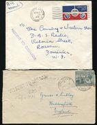 GRENADA TRINIDAD DOMINICA MISSENT MARKS 1924 AND 1978 - Grenada (...-1974)