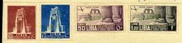 ITALIAN COLONIES - LIBYA 1937 COASTAL HIIGHWAY SET - Italy