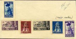 ITALIAN COLONIES - LIBYA 1936 AND 1937 TRIPOLI TRADE - Italy