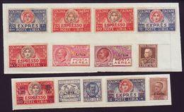 ITALIAN COLONIES - LIBYA 1921-27 EXPRESS ISSUES - Italy