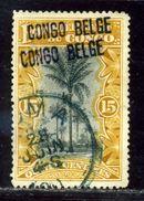 BELGIAN CONGO DOUBLE OVERPRINT - Belgium