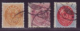 ICELAND 1892-95 SELECTION - Iceland