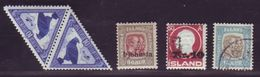 ICELAND 1918-30 NICE SELECTION - Iceland